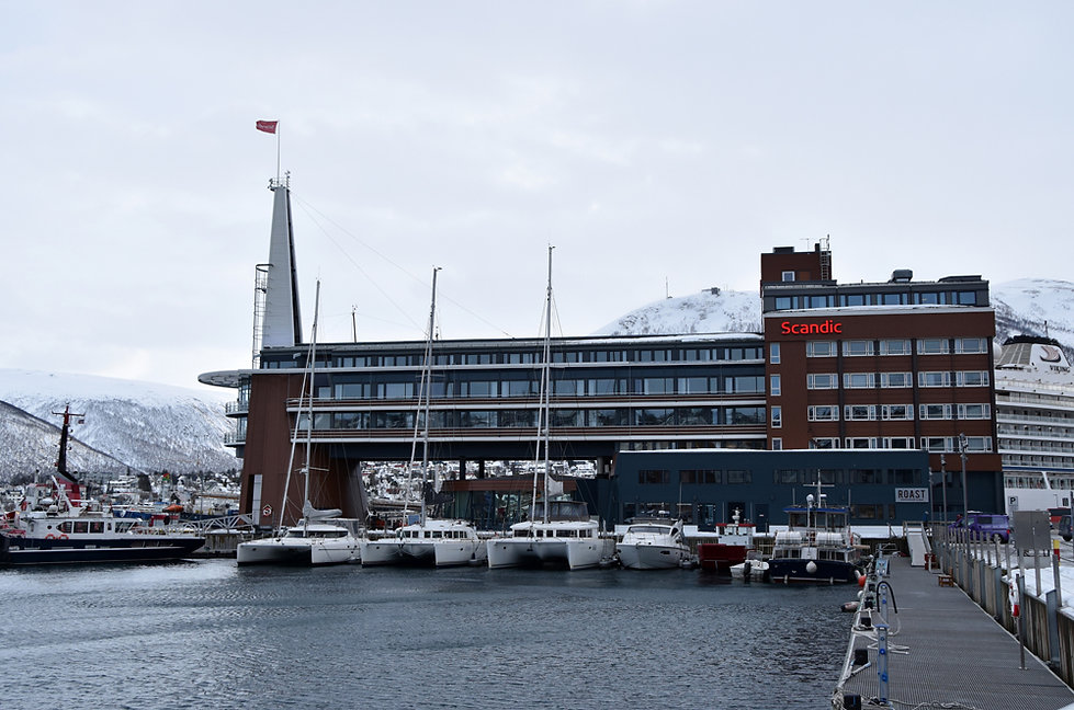 Norvège - Tromsø - port