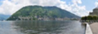 Côme panorama lac
