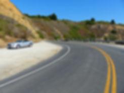 Marin County - road - mustang