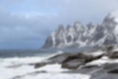 Norvège - Senja - Tungeneset - Dents du diable
