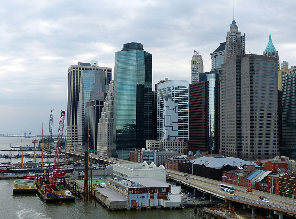 New-York - Brooklyn Bridge - Pier