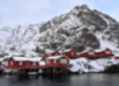 Norvège - Lofoten - Moskenesøya - Å - Rorbuer