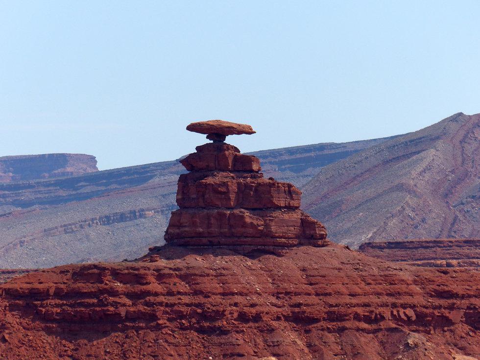 rocher Mexican Hat Utah