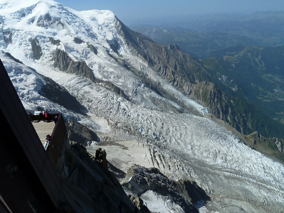 Chamonix - Aiguille du Midi - Glacier des Bossons