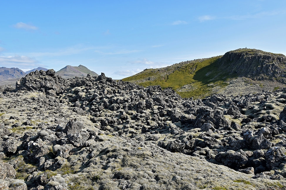 Islande Berserkjahraun piste 558 lave mousse