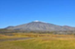 Islande péninsule Snaefellsnes Snaefellsjökull volcan