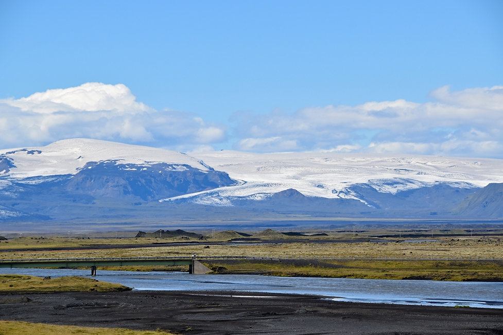 Mýrdalsjökull islande iceland katla volcano volcan glacier