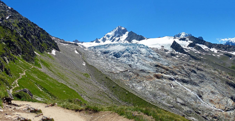Chamonix - Refuge Albert 1er - glacier du Tour