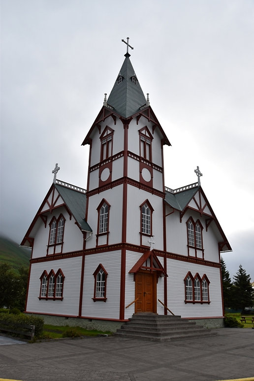 islande iceland husavik église church