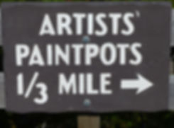 Yellowstone National Parc Artists Paint Pots