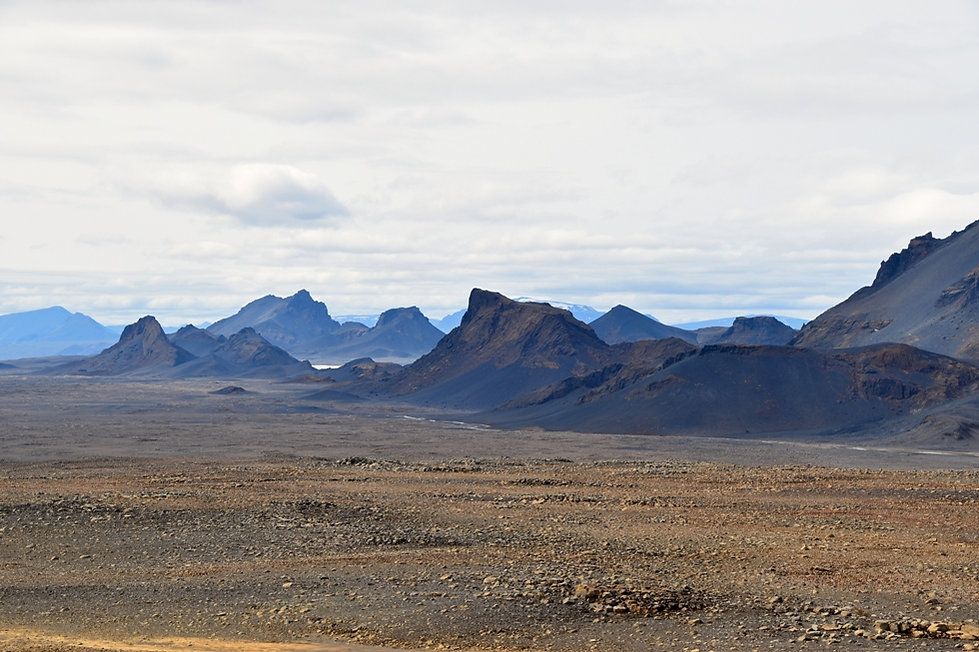 Islande piste F336 paysage montagnes