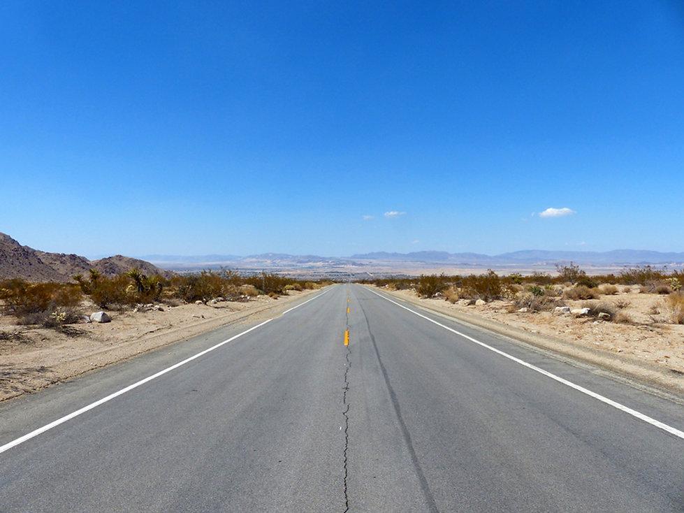 Route desert mojave