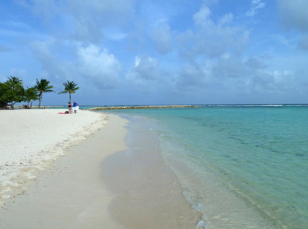 Guadeloupe plage Saint-Anne