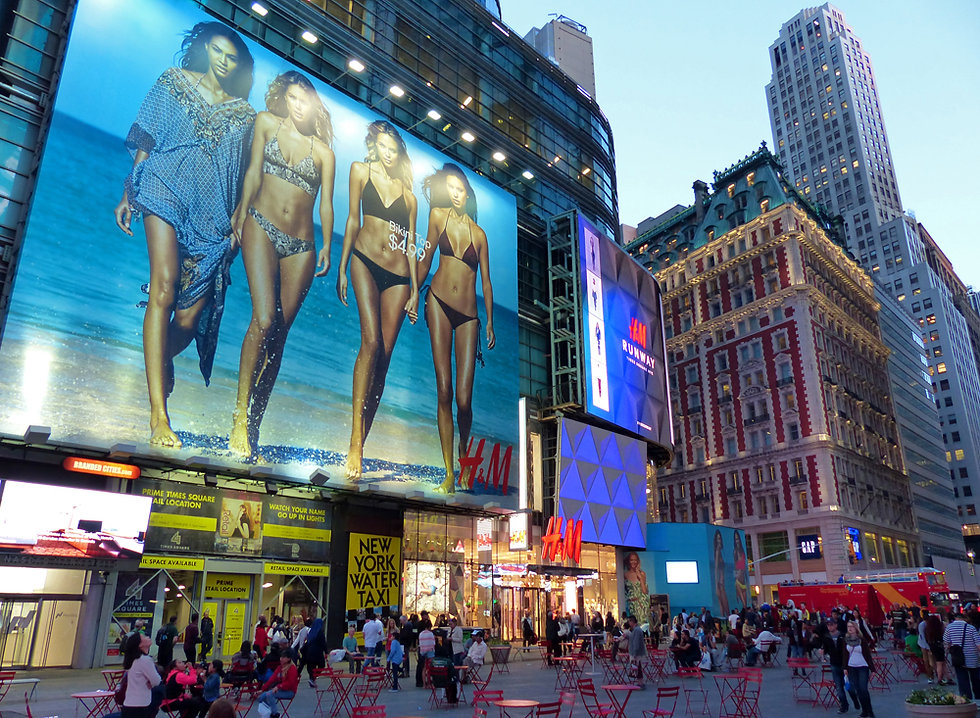 New-York - Times Square - H&M