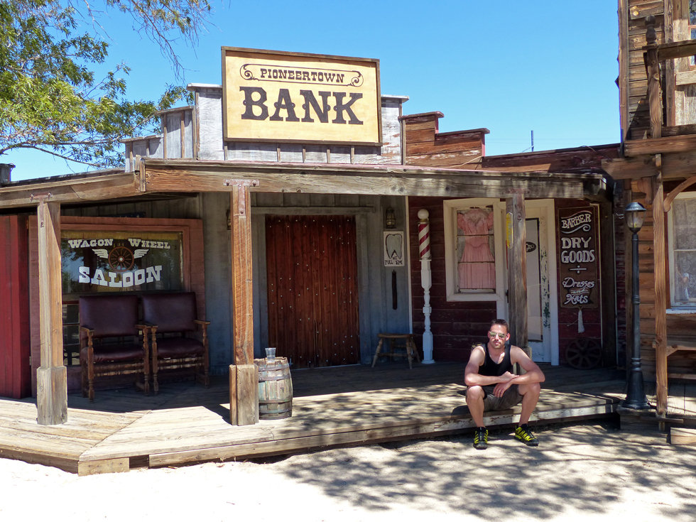 Pioneertown bank