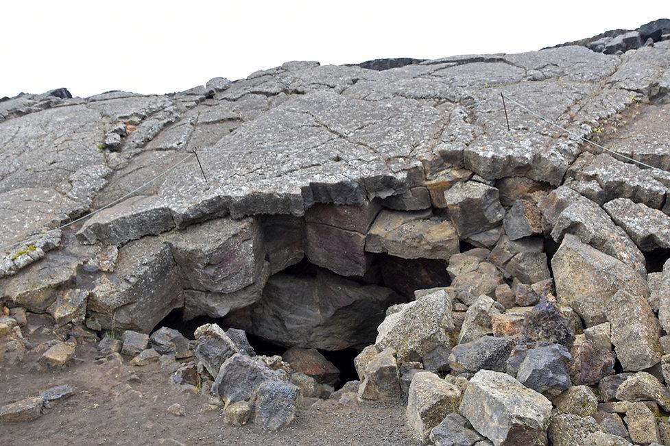islande iceland myvatn Grjótagjá