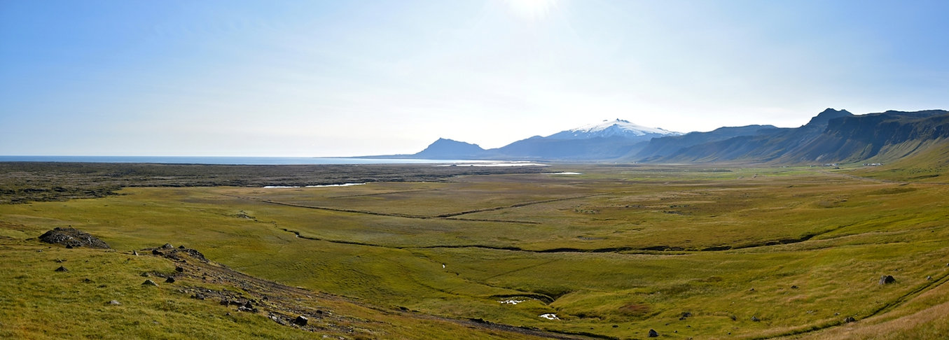 Islande volcan Snæfellsjökull péninsule Snæfellsnes