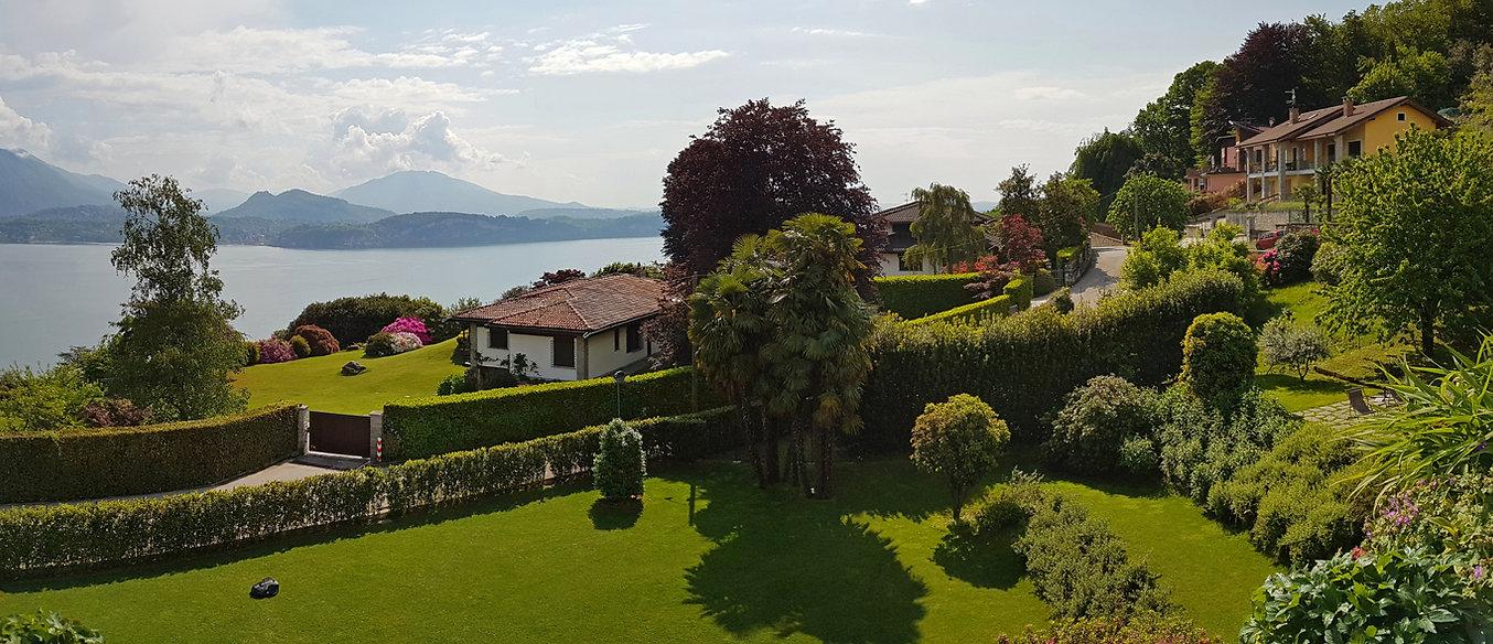 Villa Rubino stresa jardin