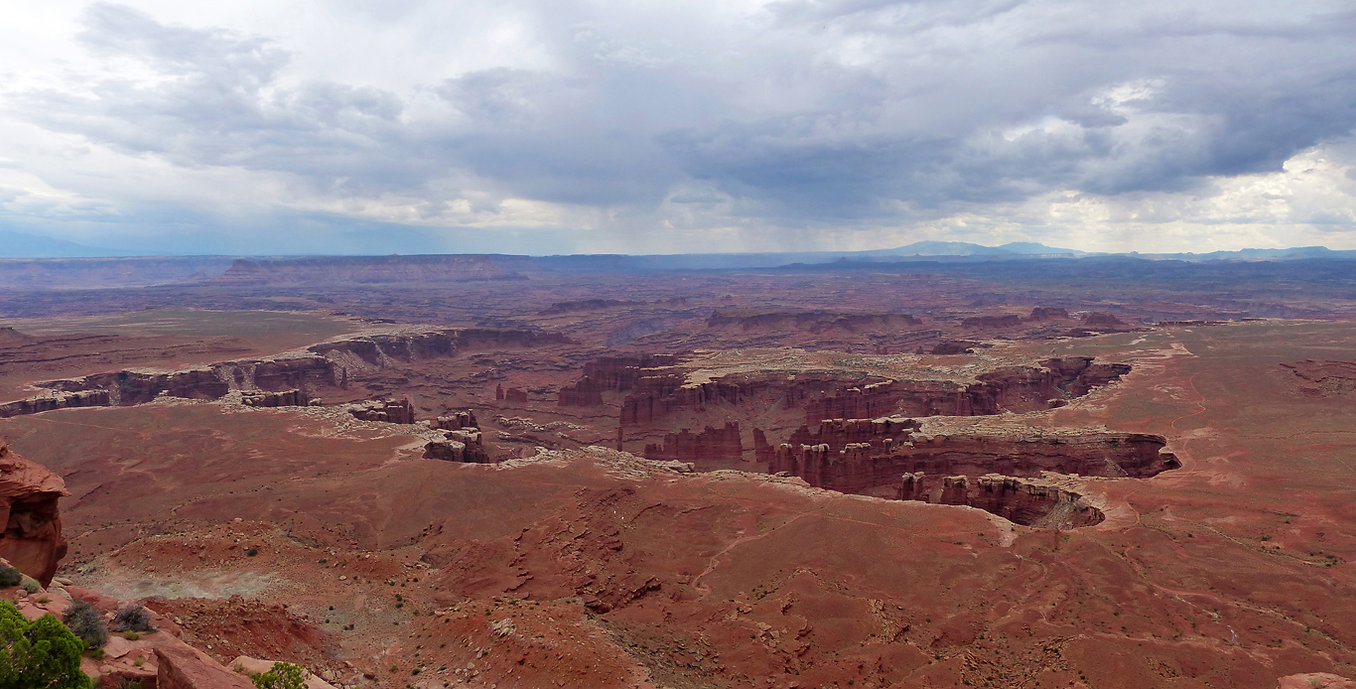 Canyonland National Park Grand View Point Overlook