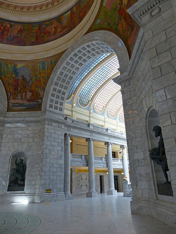 Salt Lake City capitol intrieur