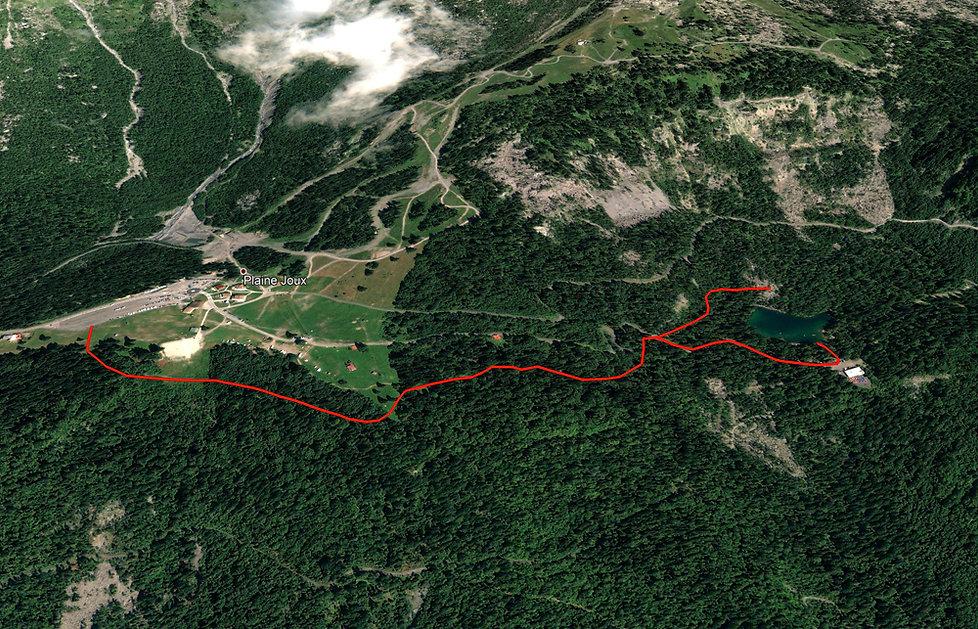 randonnée lac vert