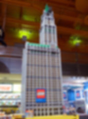 New-York - Times Square - Toys'R'Us - Woolworth Building - Lego