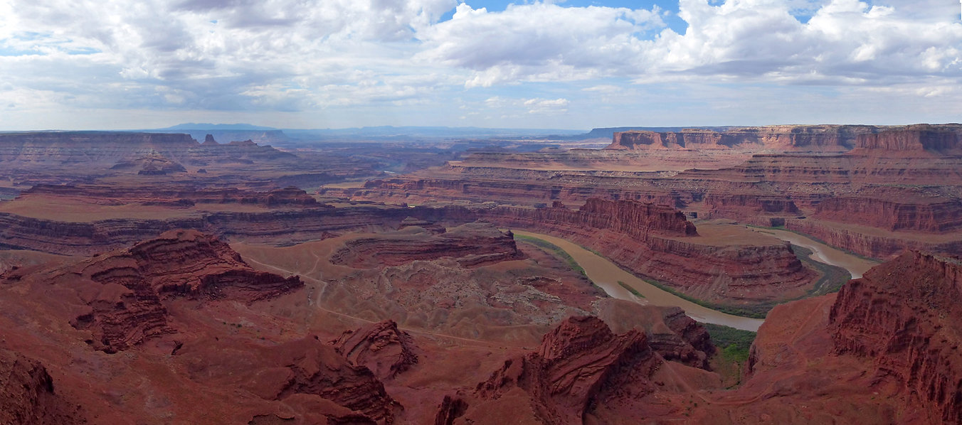 Dead Horse Point State Park overlook panorama