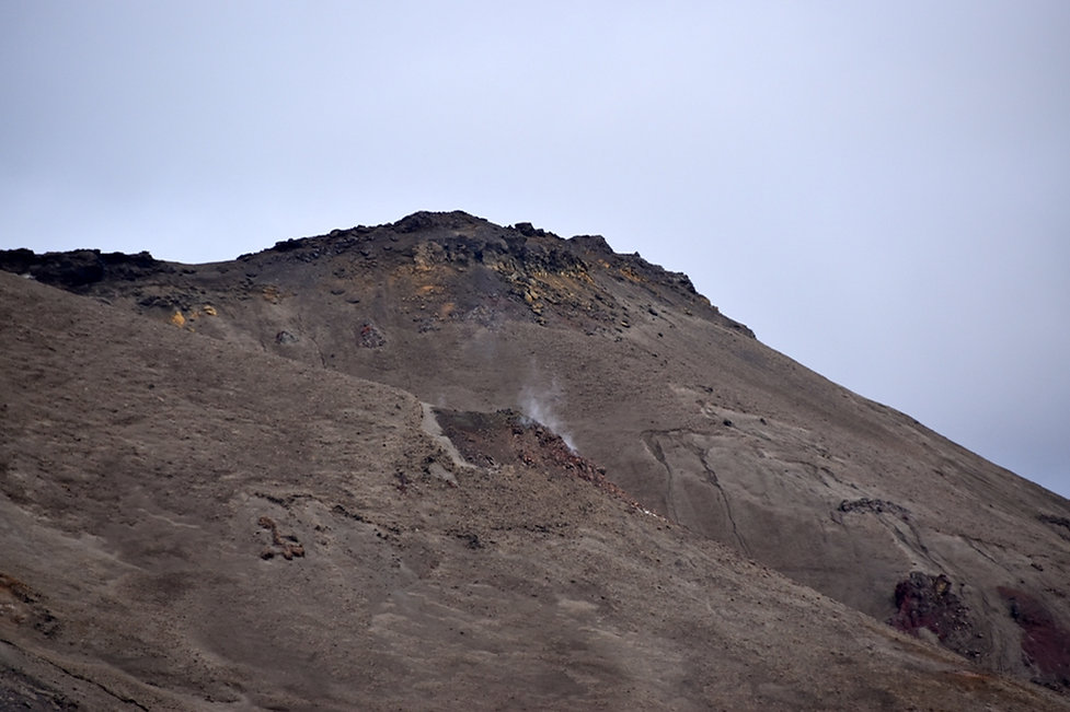 Askja caldeira volcan volcano fumerolle actif