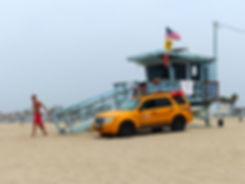 Los Angeles Venice beach lifeguard alerte a maibu