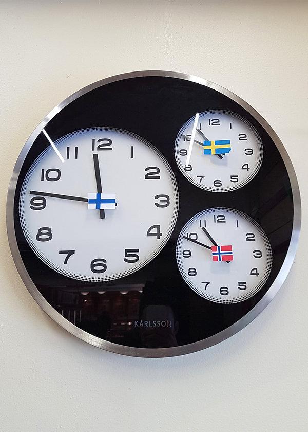 Norvège - horloge