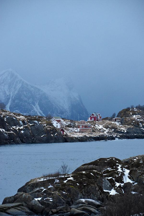 Norvège - Senja - tempête