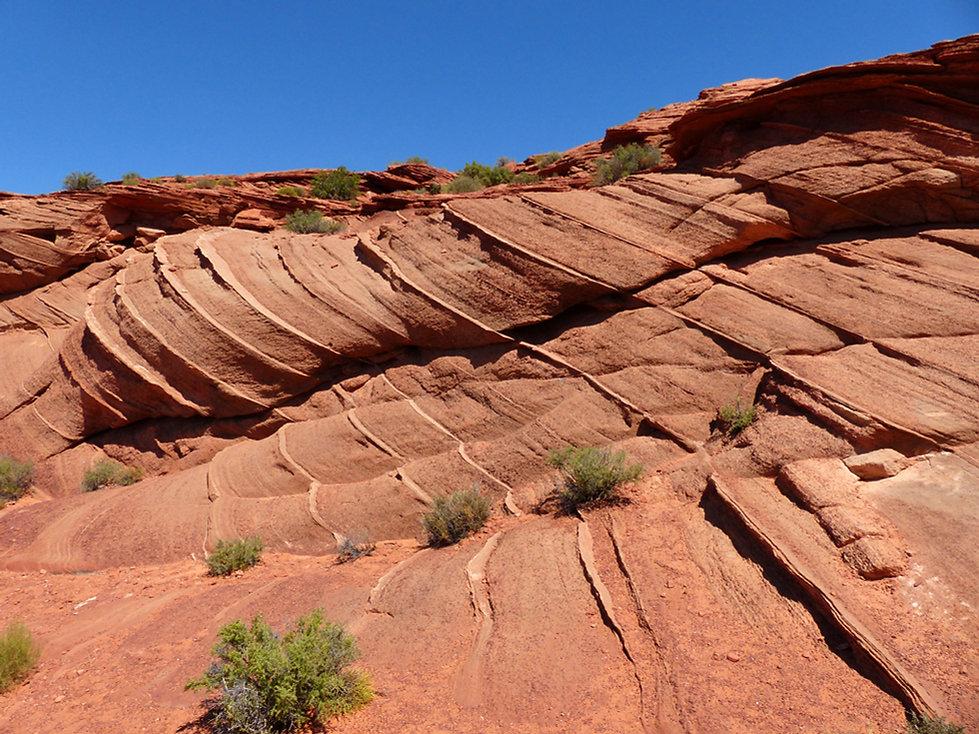 Horseshoe Bend rocher strié
