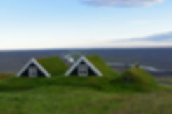 Skaftafell Sel overlook panorama islande iceland bergerie