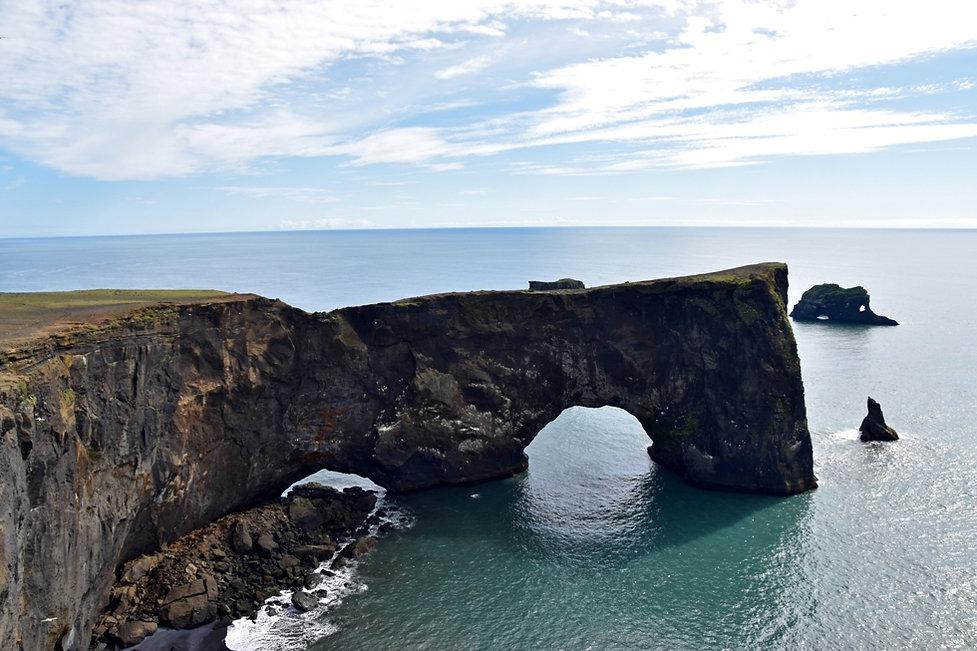 Dyrhólaey arch arche
