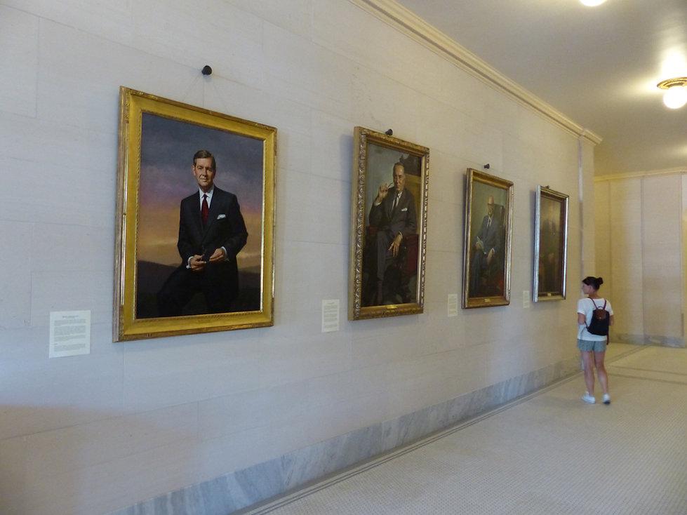 Salt Lake City capitol gouverneurs