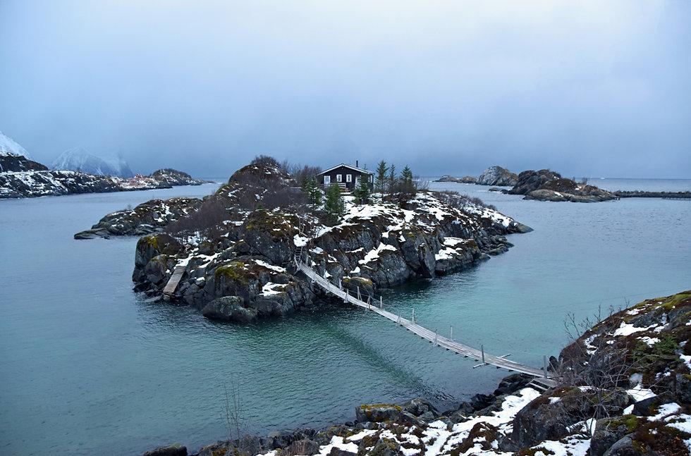 Norvège - Senja - Hamn - îlot