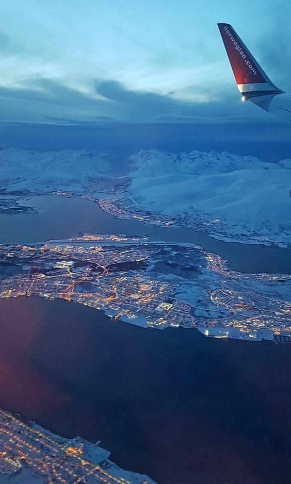Vol paris Tromso -Tromsøya -