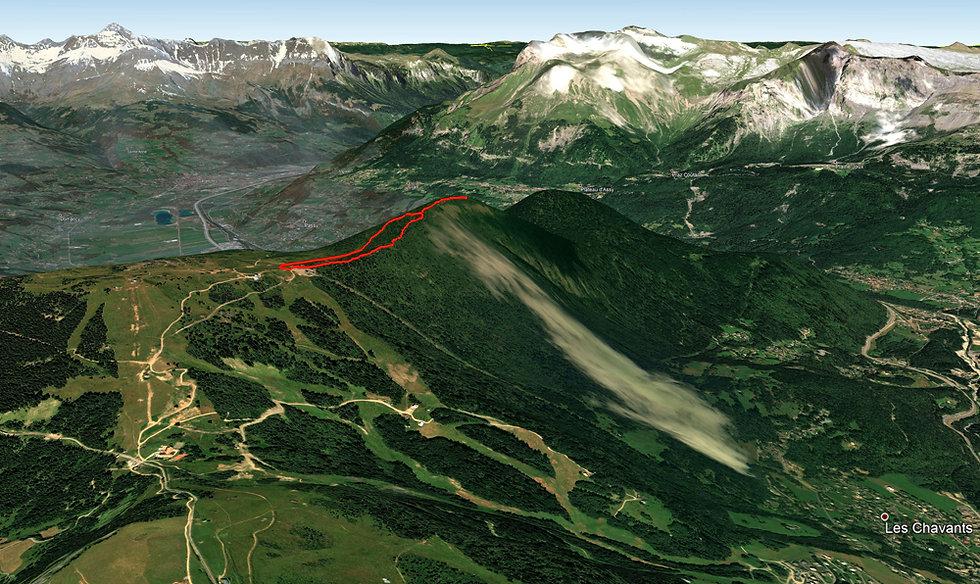 Les Houches - randonnée - Prarion