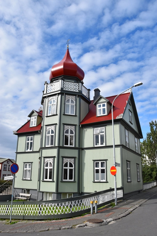 Reykjavik maison colorée