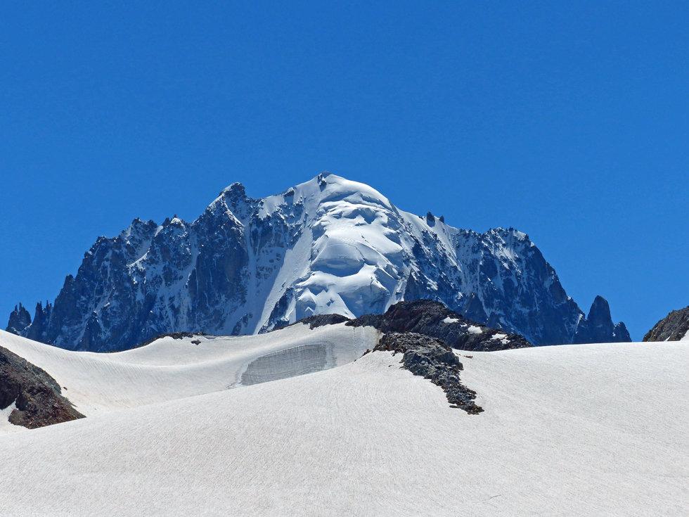 Chamonix - Refuge Albert 1er - Aiguille Verte