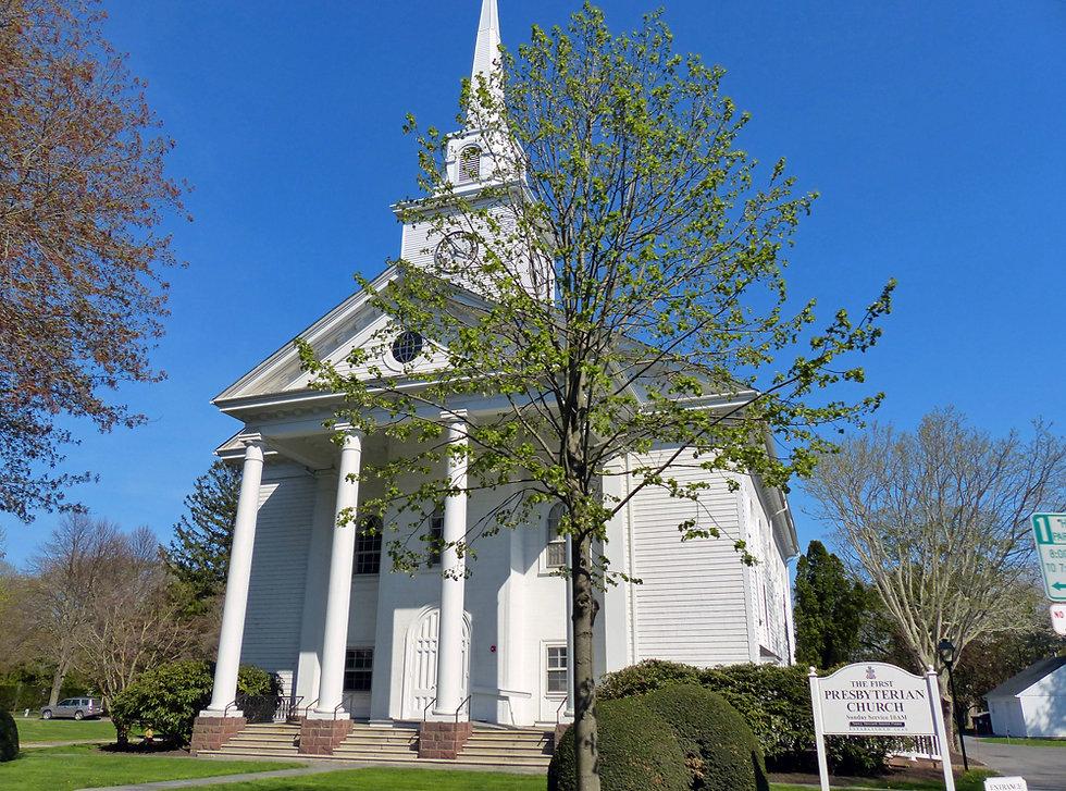 East Hampton - church