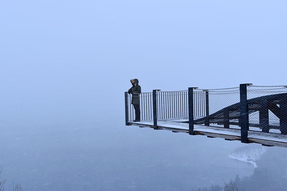 Norvège - Senja - Bergsbotn Utsiktsplattform