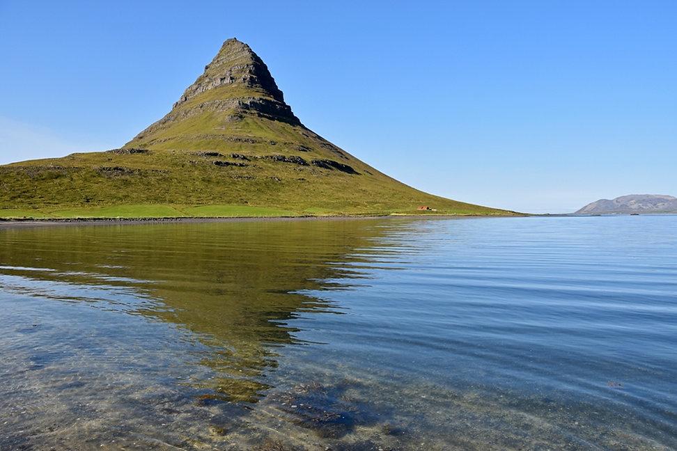 Islande Kirjufell relet montage église
