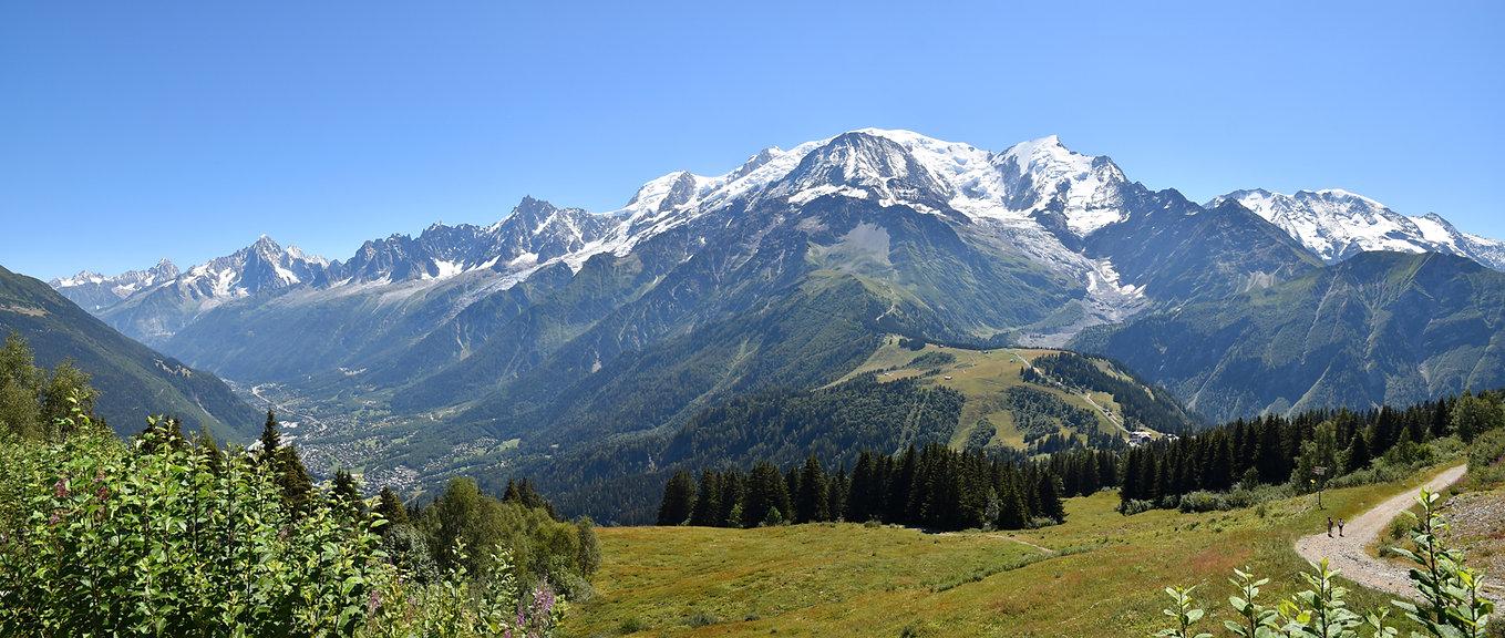 Chamonix - les Houches - randonnée - prarion - chaine mont blanc