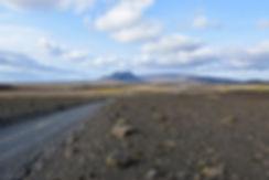 Islande piste F550 paysage