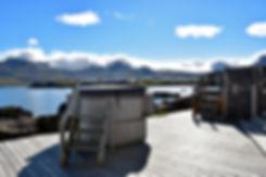 Borgarfjördur Blabjorg Guesthouse islande iceland