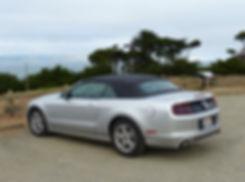 Mustang convertible 2014
