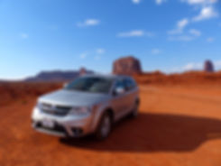 Monument Valley Dodge Journey