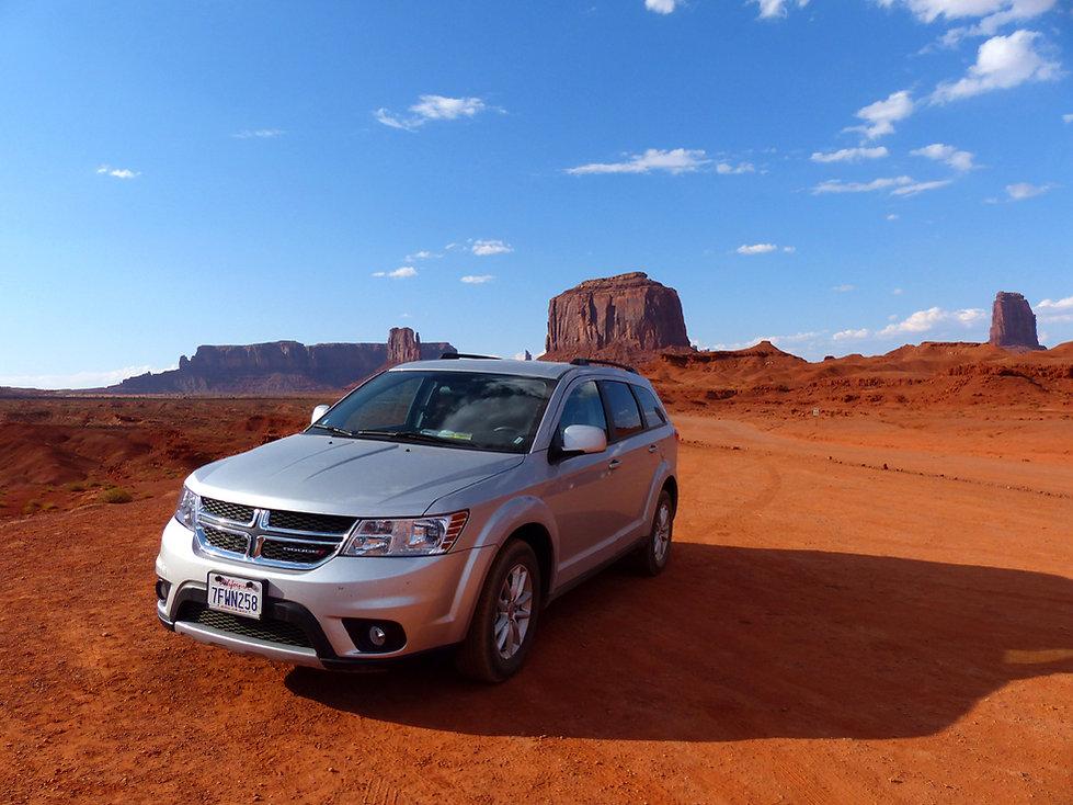 Monument Valley Dodge Journey