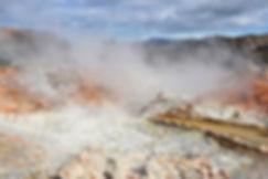 landmannalaugar brennisteinsalda solfatare fumerolle